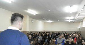 Андрей Новаков в Гимназията по икономика и мениджмънт – Пазарджик