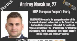 Андрей Новаков 30 under 30 Forbes