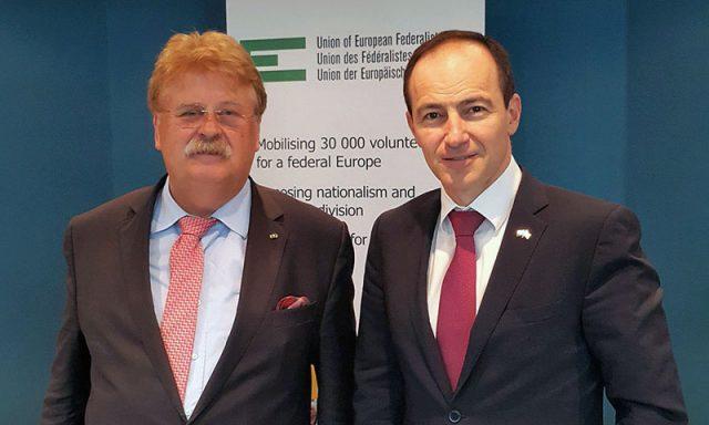 Andrey Kovatchev and Elmar Brok