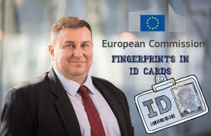 Emil Radev, EC fingerprints in ID cards