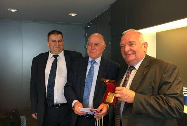 Emil Radev and Joseph Daul