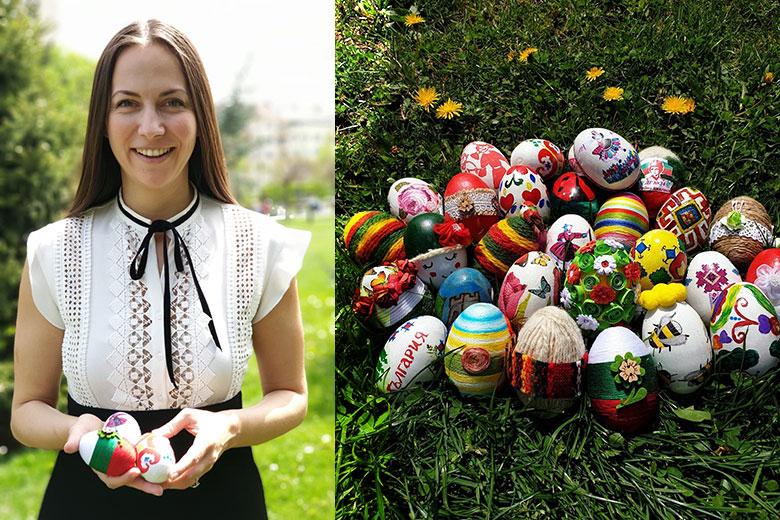 Кметът на Брюксел ще получи великденски яйца, изписани от ...