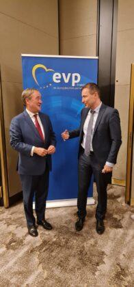 Armin Laschet and Andrey Kovatchev - EPP-Berlin